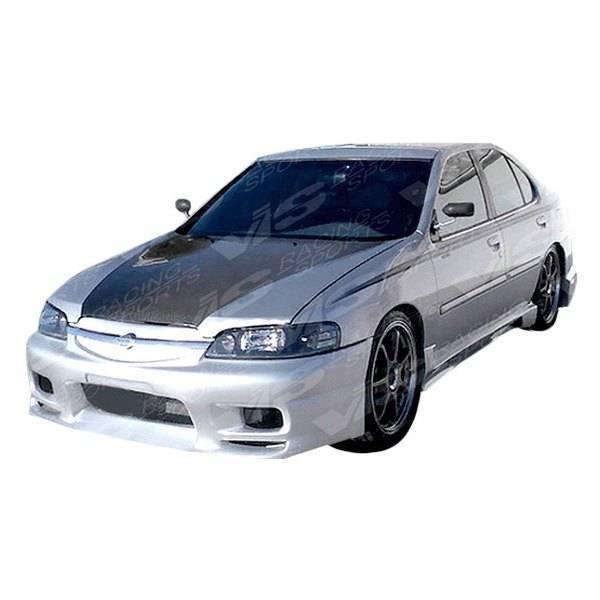 VIS Racing - Carbon Fiber Hood OEM Style for Nissan Altima 4DR 98-01