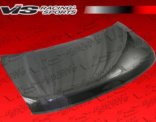 VIS Racing - Carbon Fiber Hood OEM Style for Nissan Cube 4DR 2009-2014