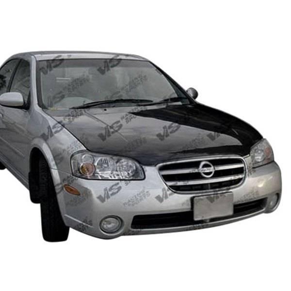 VIS Racing - Carbon Fiber Hood OEM Style for Nissan Maxima 4DR 00-03