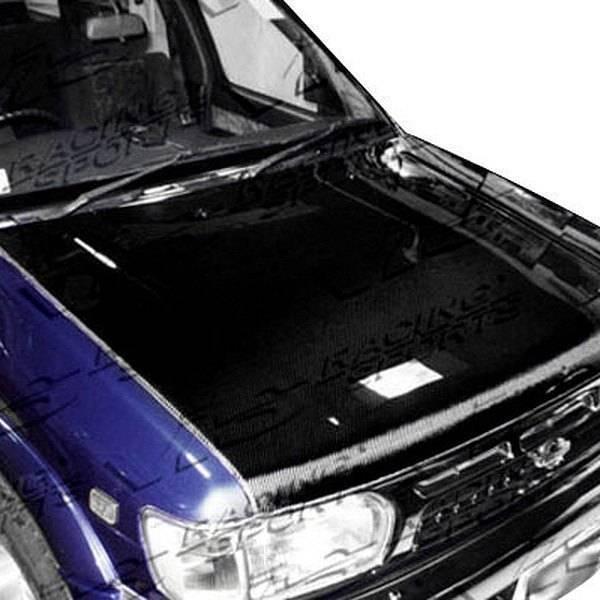 VIS Racing - Carbon Fiber Hood OEM Style for Nissan Pathfinder 4DR 96-98