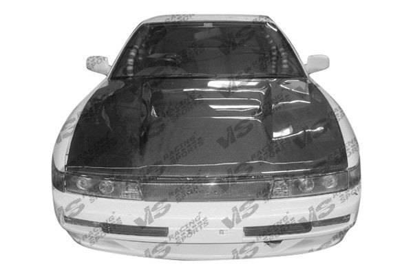 VIS Racing - Carbon Fiber Hood Invader Style for Nissan S13 2DR 89-94