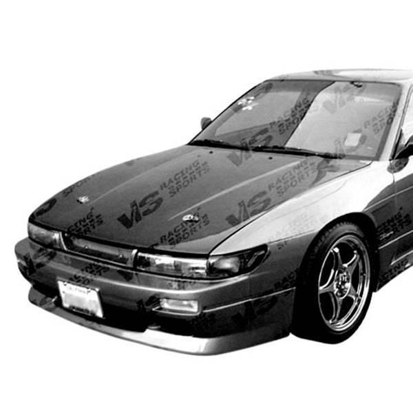 VIS Racing - Carbon Fiber Hood OEM Style for Nissan S13 2DR 89-94