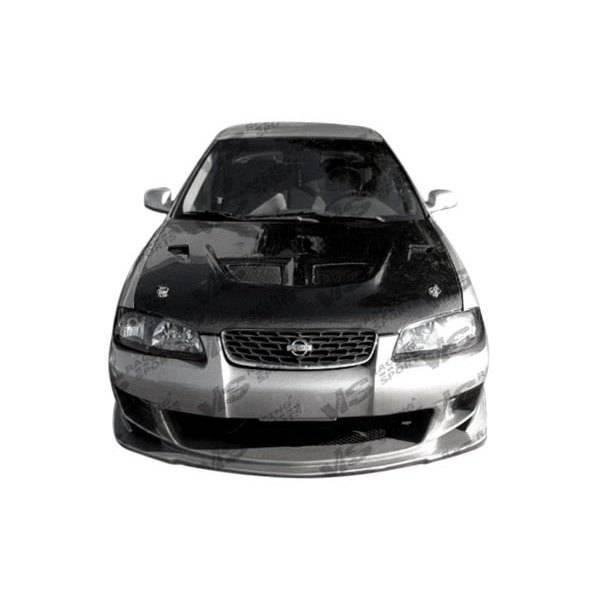 VIS Racing - Carbon Fiber Hood EVO Style for Nissan Sentra 4DR 00-03