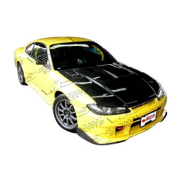 VIS Racing - Carbon Fiber Hood Drift 2 Style for Nissan SILVA S15 2DR 99-02
