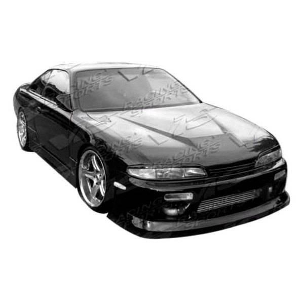VIS Racing - Carbon Fiber Hood Invader Style for Nissan SILVA S15 2DR 99-02