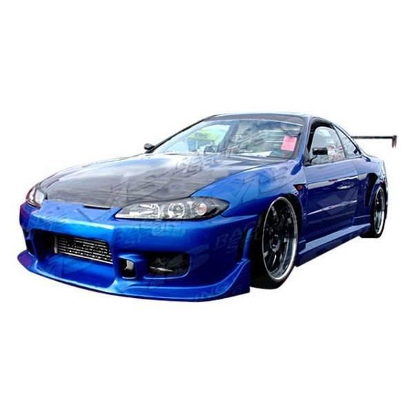 VIS Racing - Carbon Fiber Hood OEM Style for Nissan SILVA S15 2DR 99-02