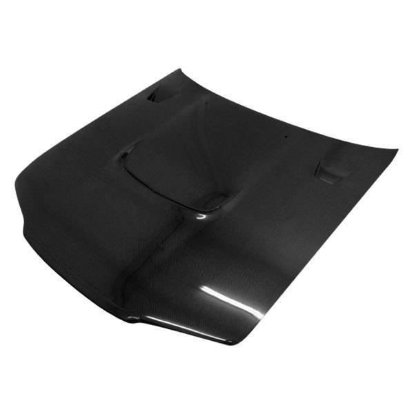 VIS Racing - Carbon Fiber Hood JS Style for Nissan SKYLINE R32 (GTR) 2DR 90-94
