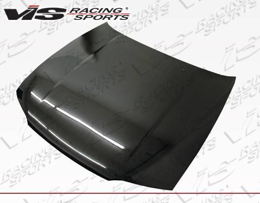 VIS Racing - Carbon Fiber Hood OEM Style for Nissan SKYLINE R33 (GTR) 2DR 95-98