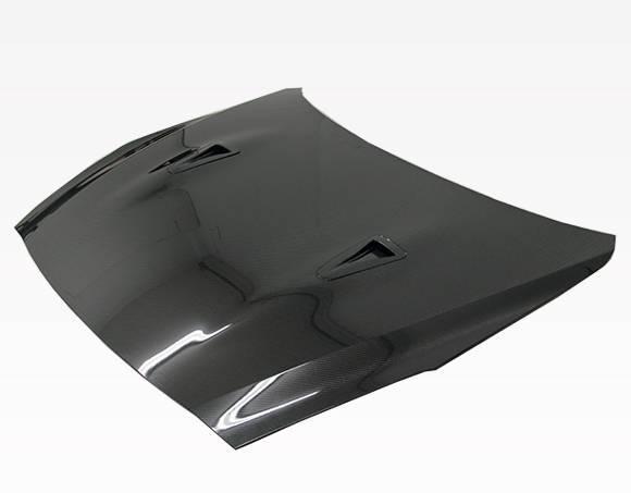 VIS Racing - Carbon Fiber Hood OEM  Style for Nissan SKYLINE R35 (GTR) 2DR 2009-2020