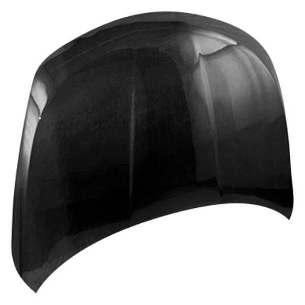 VIS Racing - Carbon Fiber Hood OEM Style for Nissan Versa 4DR & Hatchback 07-09