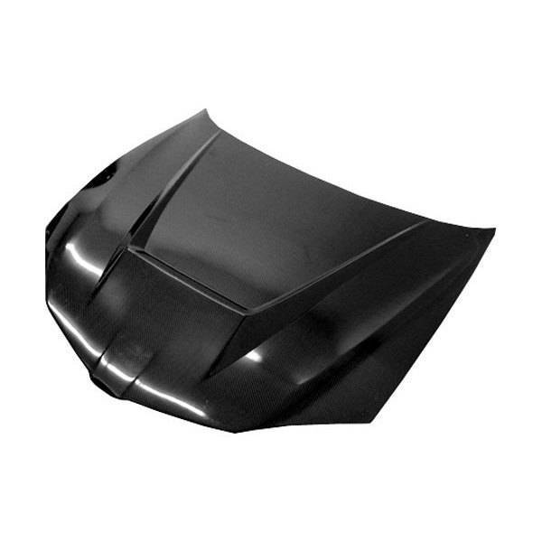 VIS Racing - Carbon Fiber Hood Invader Style for Pontiac SunFire 2DR & 4DR 03-05