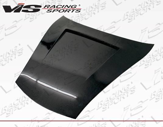 VIS Racing - Carbon Fiber Hood GTO Style for Porsche 996 2DR 99-04