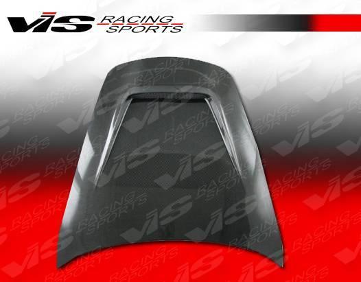 VIS Racing - Carbon Fiber Hood G Tech Style for Porsche 997 2DR 05-11