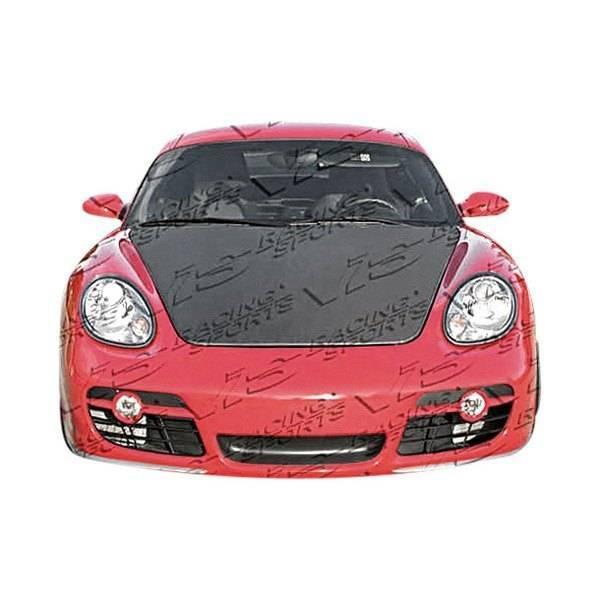 VIS Racing - Carbon Fiber Hood OEM Style for Porsche Boxster 2DR 05-12