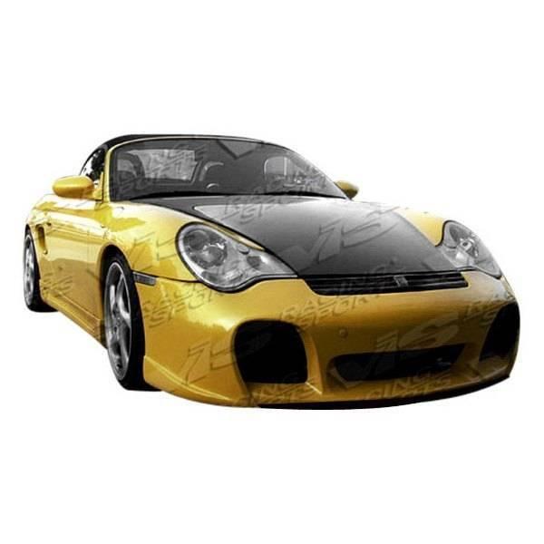 VIS Racing - Carbon Fiber Hood OEM Style for Porsche Boxster 2DR 97-04