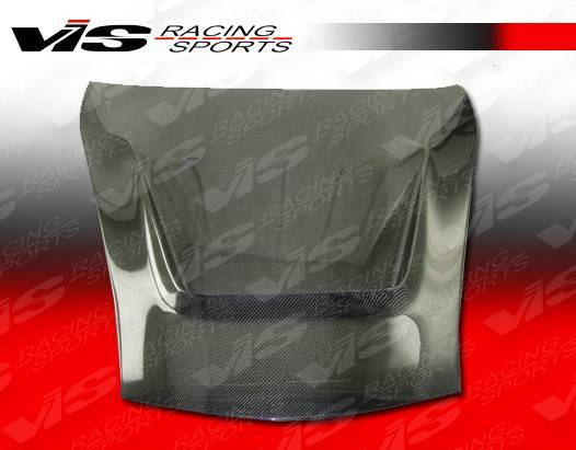 VIS Racing - Carbon Fiber Hood G Tech Style for Porsche Cayman 2DR 06-12