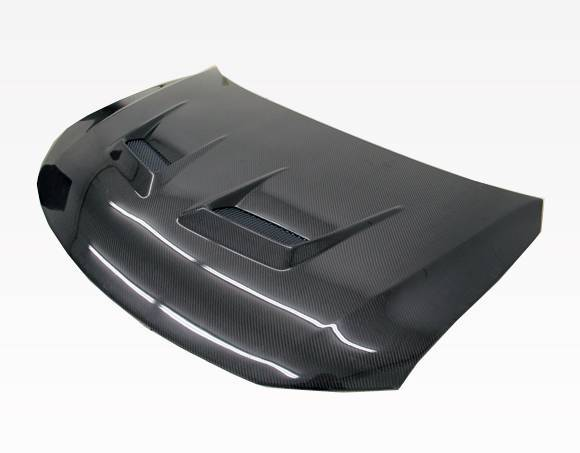VIS Racing - Carbon Fiber Hood Terminator Style for Scion TC 2DR 11-13