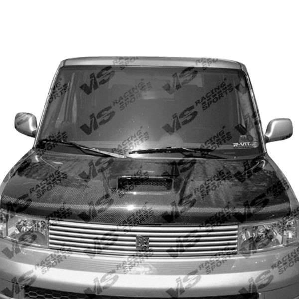 VIS Racing - Carbon Fiber Hood Techno R Style for Scion XB 4DR 04-06