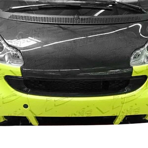 VIS Racing - Carbon Fiber Hood OEM Style for Smart Fortwo 2DR 08-14