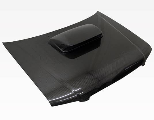 VIS Racing - Carbon Fiber Hood STI Style for Subaru Forester 4DR 01-02
