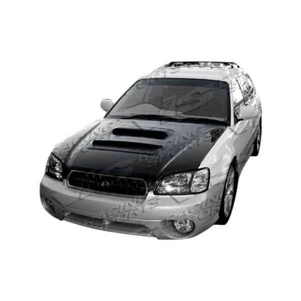 VIS Racing - Carbon Fiber Hood V Line Style for Subaru Legacy 4DR 00-04