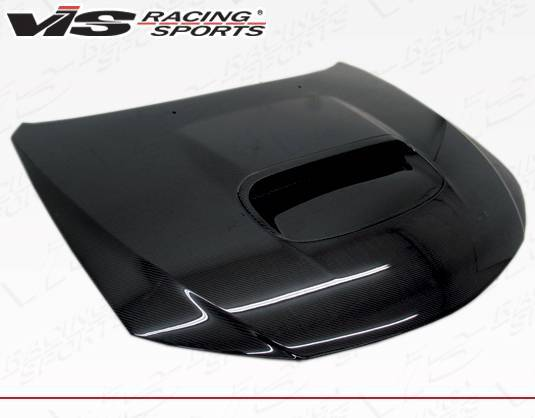 VIS Racing - Carbon Fiber Hood STI Style for Subaru WRX Hatchback & 4DR 08-14