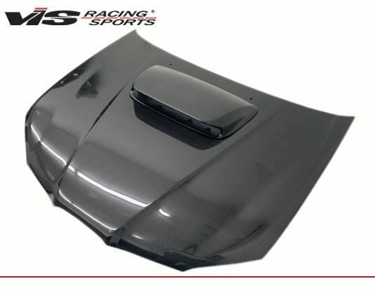 VIS Racing - Carbon Fiber Hood STI Style for Subaru WRX 4DR 06-07
