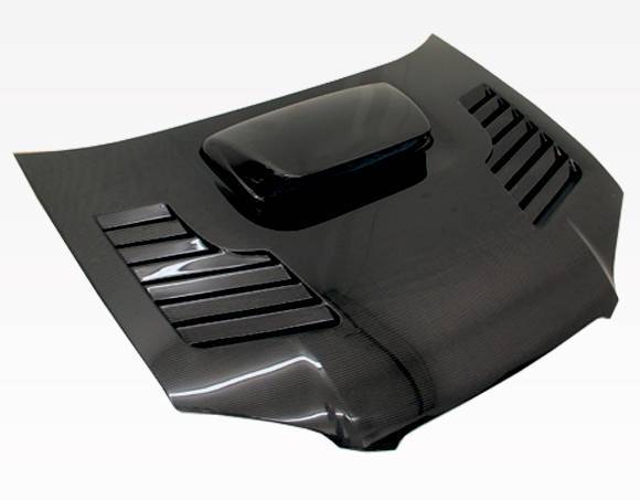 VIS Racing - Carbon Fiber Hood Tracer Style for Subaru WRX 4DR 04-05
