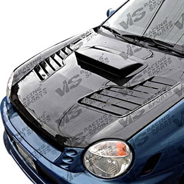 VIS Racing - Carbon Fiber Hood Tracer Style for Subaru WRX 4DR 02-03