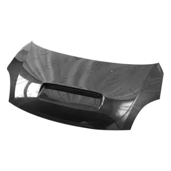VIS Racing - Carbon Fiber Hood Techno R Style for Suzuki Swift 4DR 05-07
