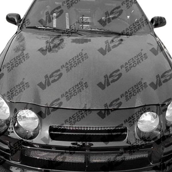 VIS Racing - Carbon Fiber Hood OEM Style for Toyota Celica 2DR & Hatchback 94-99