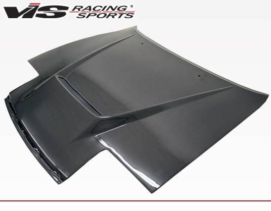 VIS Racing - Carbon Fiber Hood Invader Style for Toyota Celica 2DR 90-93