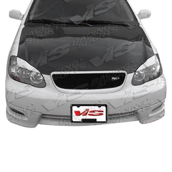 VIS Racing - Carbon Fiber Hood OEM Style for Toyota Corolla 4DR 03-08