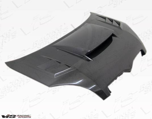 VIS Racing - Carbon Fiber Hood Cyber Style for Toyota Echo (JDM) 4DR 00-02
