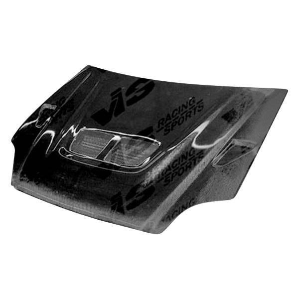 VIS Racing - Carbon Fiber Hood EVO Style for Toyota Echo (JDM) 4DR 00-02