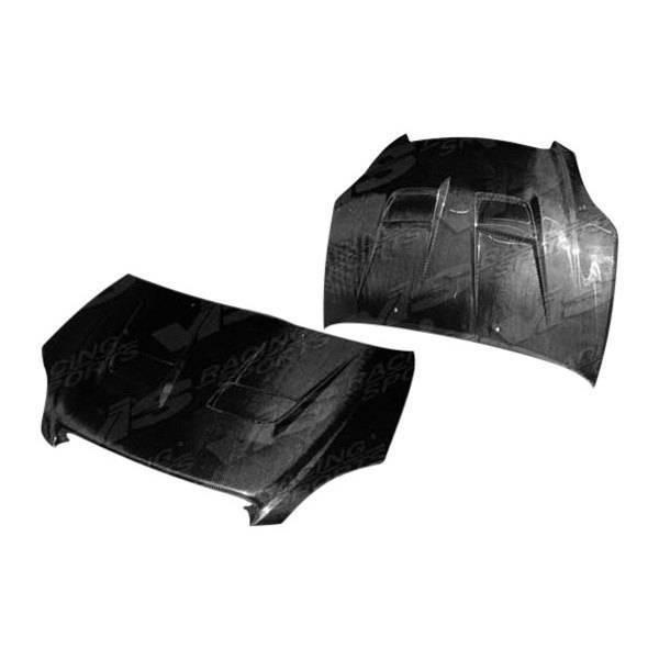 VIS Racing - Carbon Fiber Hood Thunder Style for Toyota Matrix 4DR 02-04