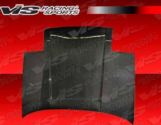 VIS Racing - Carbon Fiber Hood OEM Style for Toyota MR2 2DR 85-89
