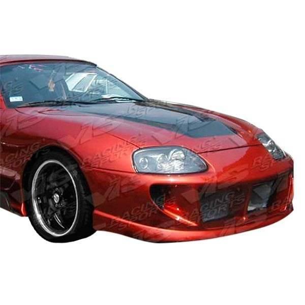 VIS Racing - Carbon Fiber Hood Invader Style for Toyota Supra 2DR 93-98