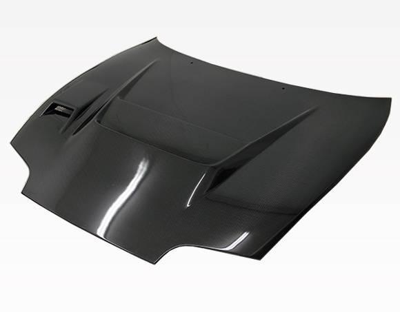 VIS Racing - Carbon Fiber Hood V Line Style for Toyota Supra 2DR 93-98