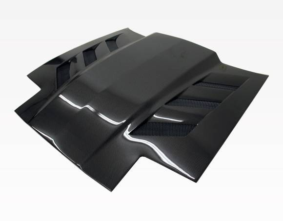 VIS Racing - Carbon Fiber Hood AMS Style for Toyota Supra 2DR 86-92