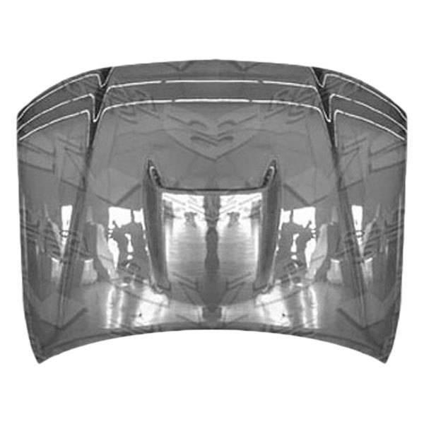 VIS Racing - Carbon Fiber Hood SR 5 Style for Toyota Tacoma 2DR 05-09