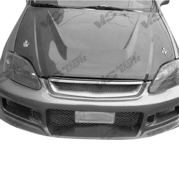VIS Racing - Carbon Fiber Hood Invader Style for Volkswagen Golf 3 2DR & 4DR 93-98