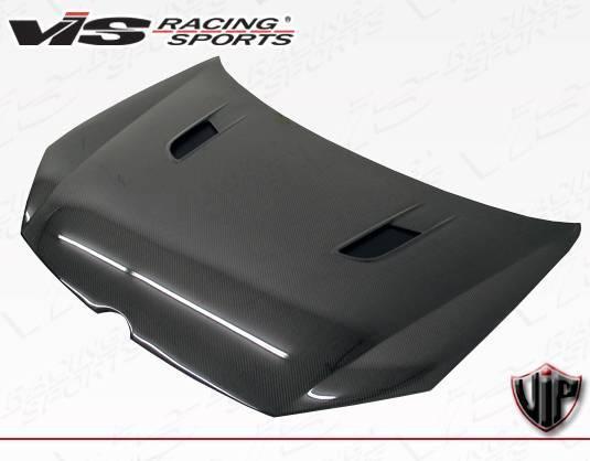 VIS Racing - Carbon Fiber Hood RVS Style for Volkswagen Golf 6 2DR & 4DR 06-09