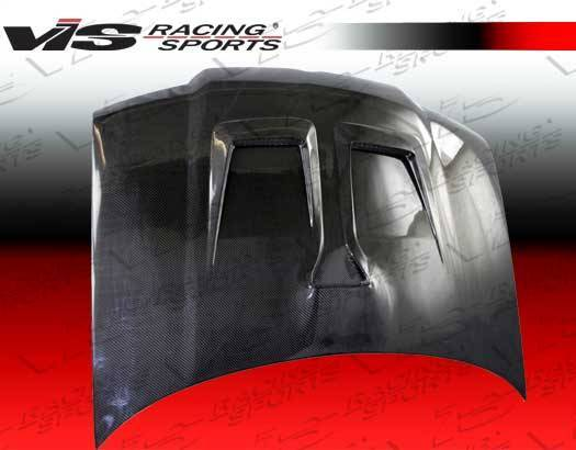 VIS Racing - Carbon Fiber Hood Monster Style for Volkswagen Jetta 4DR 99-05