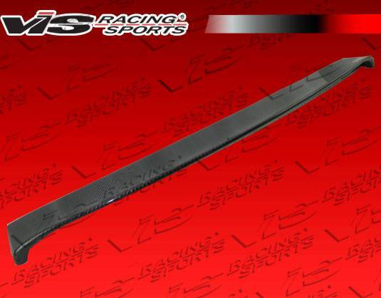 VIS Racing - Carbon Fiber Roof Spoiler Euro Tech Style for BMW E60 4DR 04-07