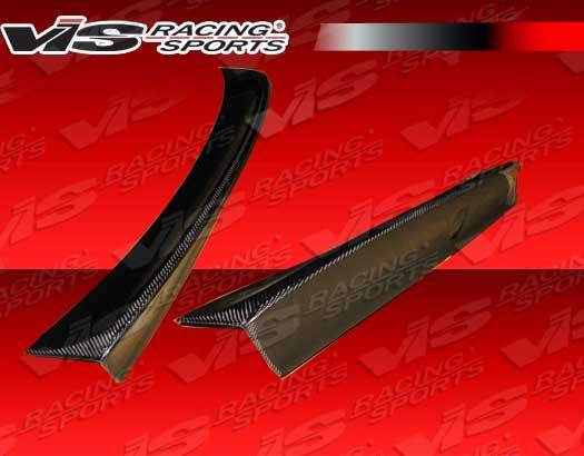 VIS Racing - Carbon Fiber Spoiler CSL ver2 Style for BMW E46 4DR 99-05