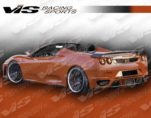 VIS Racing - Carbon Fiber Spoiler Euro Tech  Style for Ferrari F 430 2DR 05-08