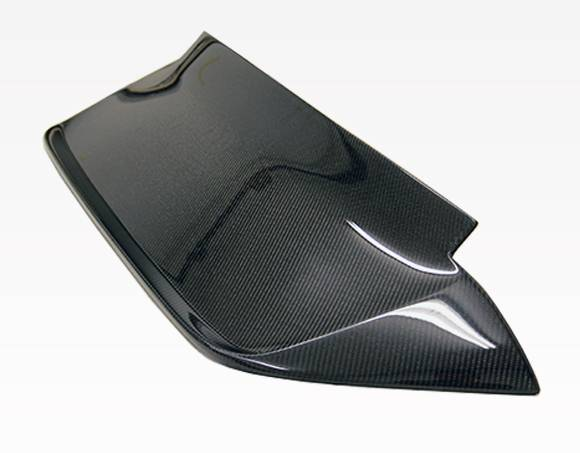 VIS Racing - Carbon Fiber Spoiler Crow Style for Honda Civic Hatchback 92-95