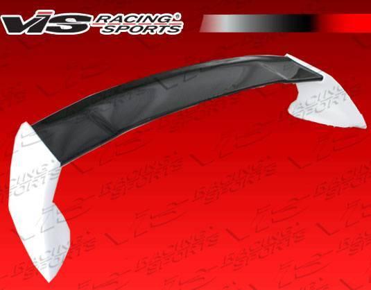 VIS Racing - Carbon Fiber Spoiler RR Style for Honda Civic 4DR 06-11