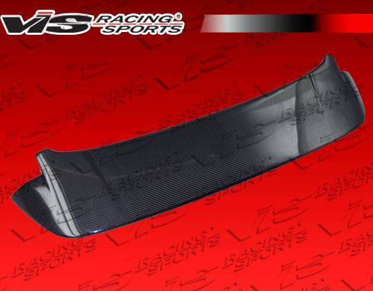 VIS Racing - Carbon Fiber Spoiler Techno R Style for Honda Fit 4DR 09-10